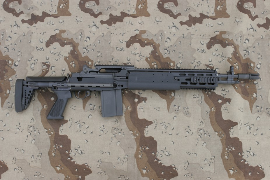 This is the m14 in its navy m14mod o ebr guise. all of the crazy horse
